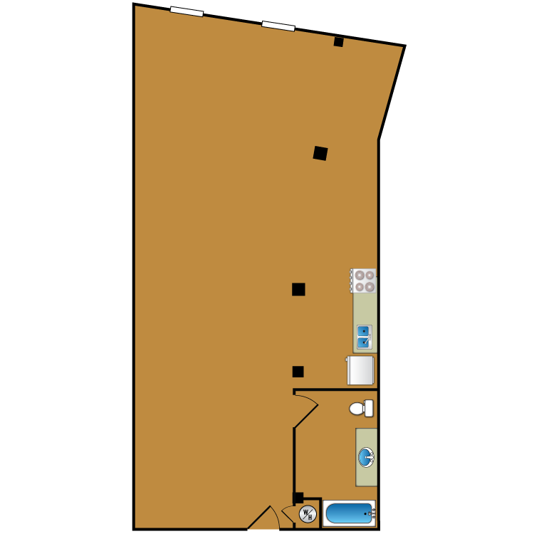 Floor plan image of Loft 211