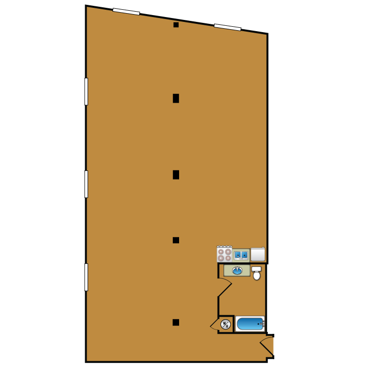 Floor plan image of Loft 212