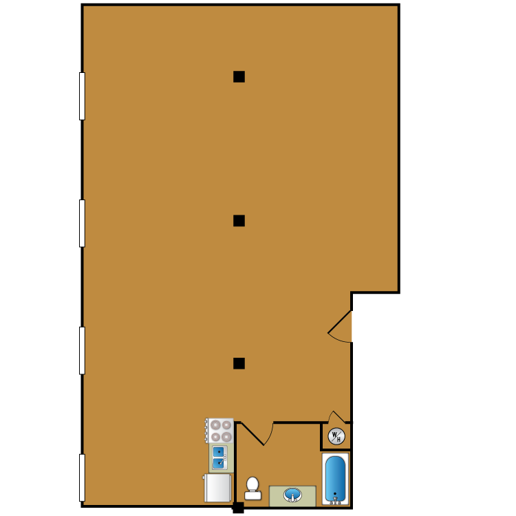 Floor plan image of Loft 213