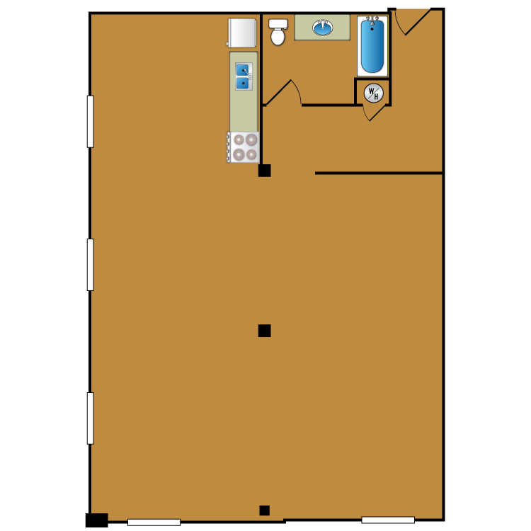 Floor plan image of Loft 214