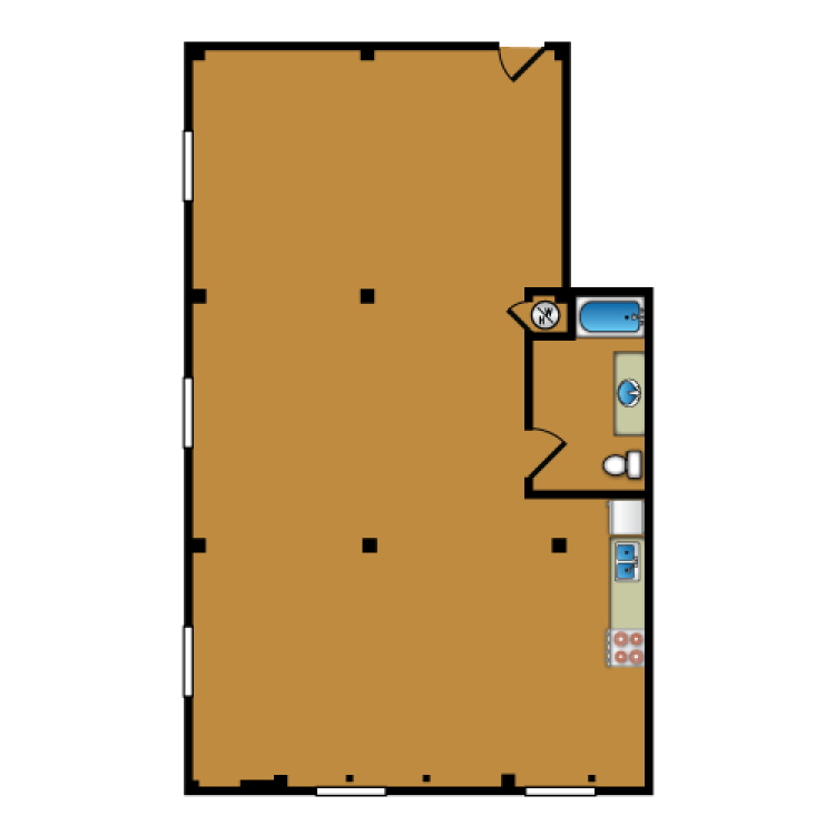 Floor plan image of Loft 300