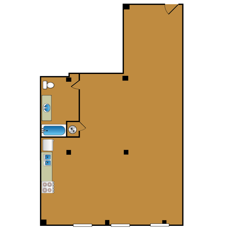 Floor plan image of Loft 301