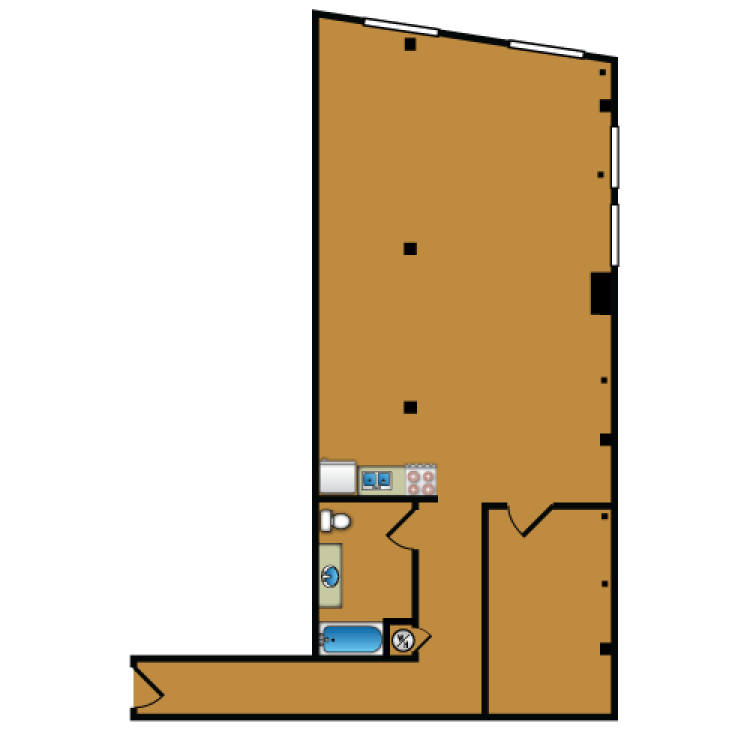 Floor plan image of Loft 302