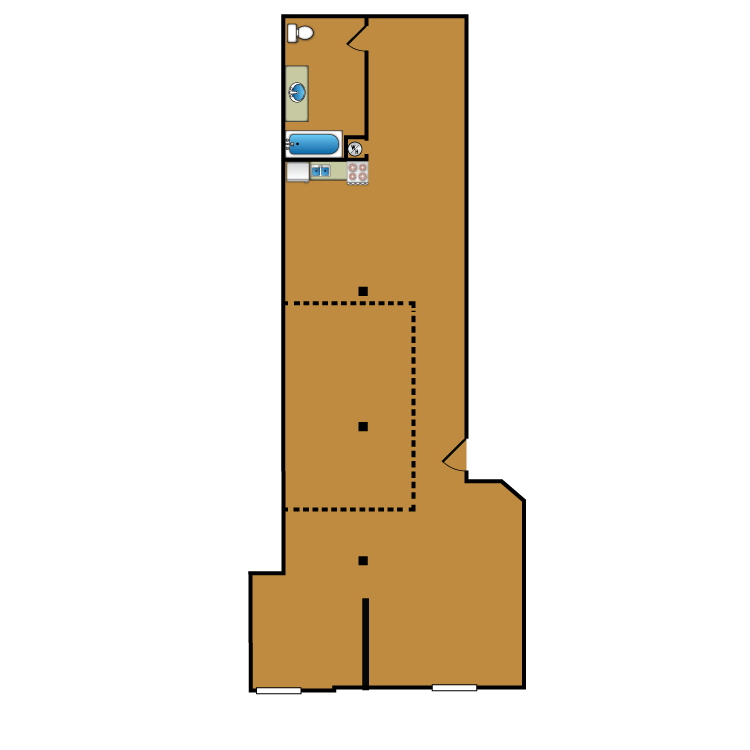 Floor plan image of Loft 304