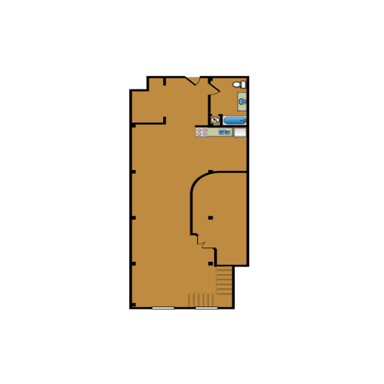 Floor plan image of Loft 306