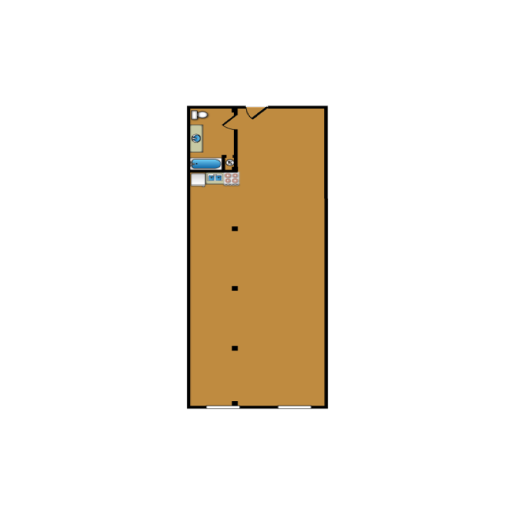 Floor plan image of Loft 308