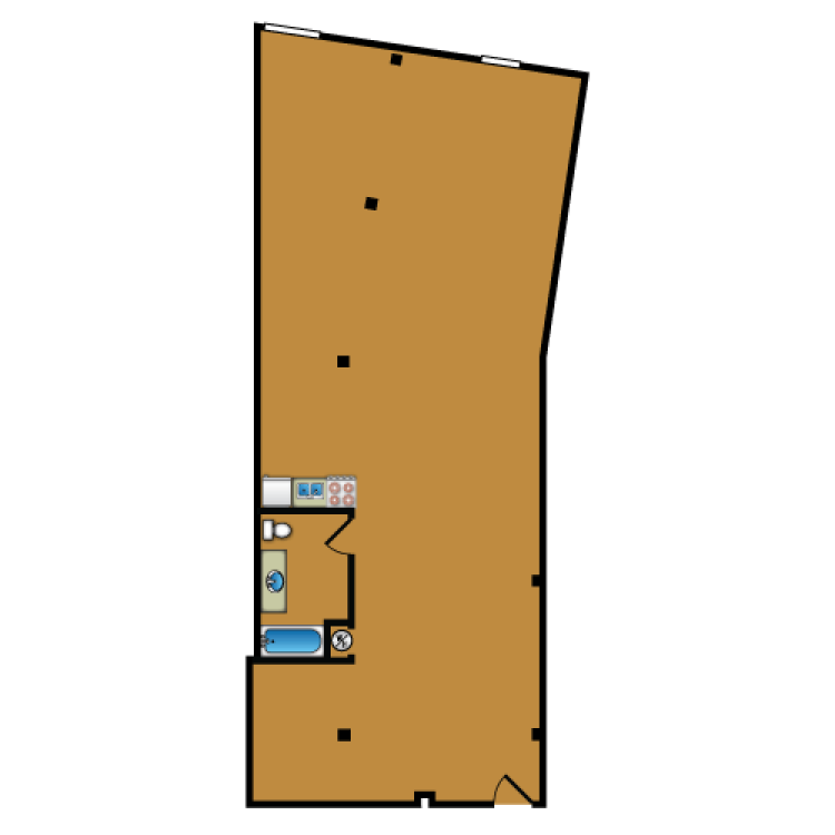 Floor plan image of Loft 309