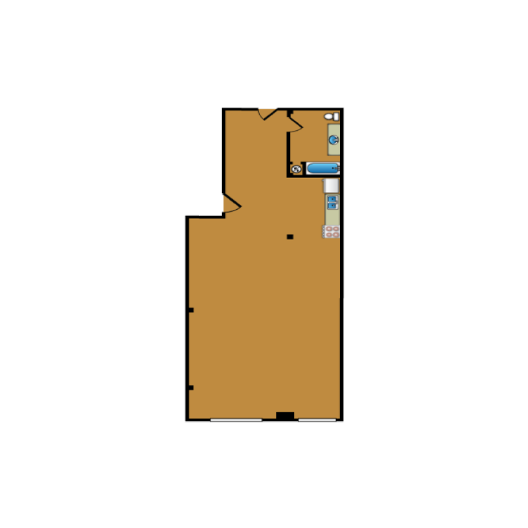 Floor plan image of Loft 310