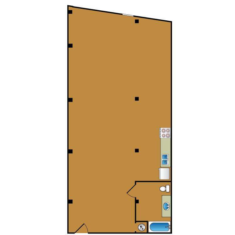 Floor plan image of Loft 311
