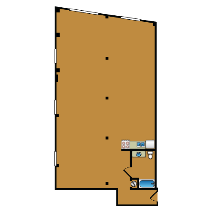 Floor plan image of Loft 312