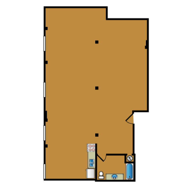 Floor plan image of Loft 313