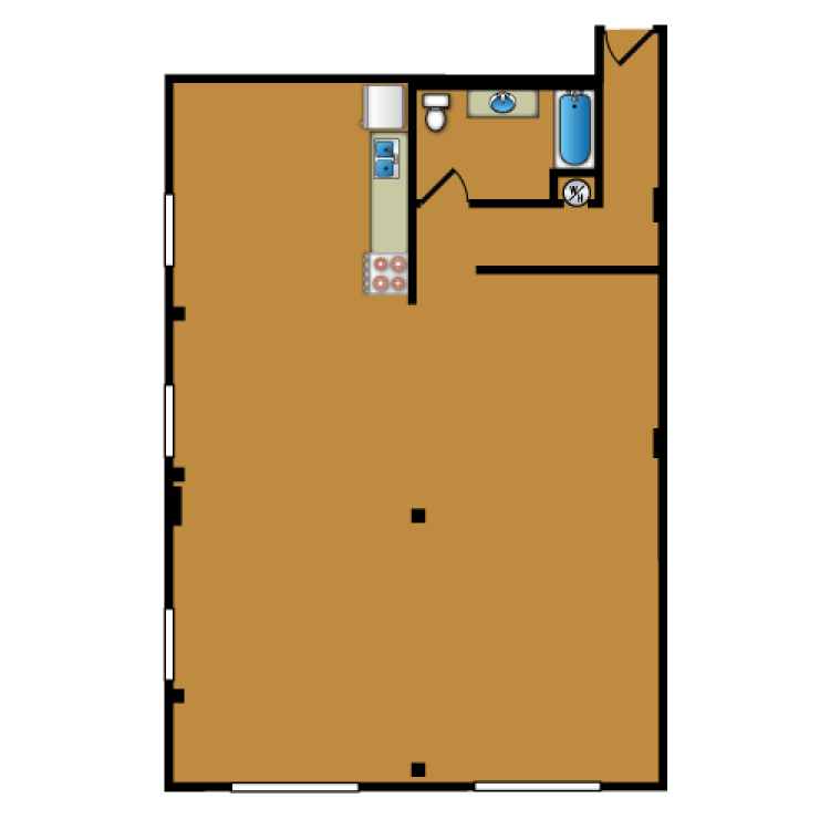 Floor plan image of Loft 314