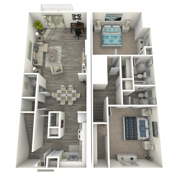 Floor plan image of TH2