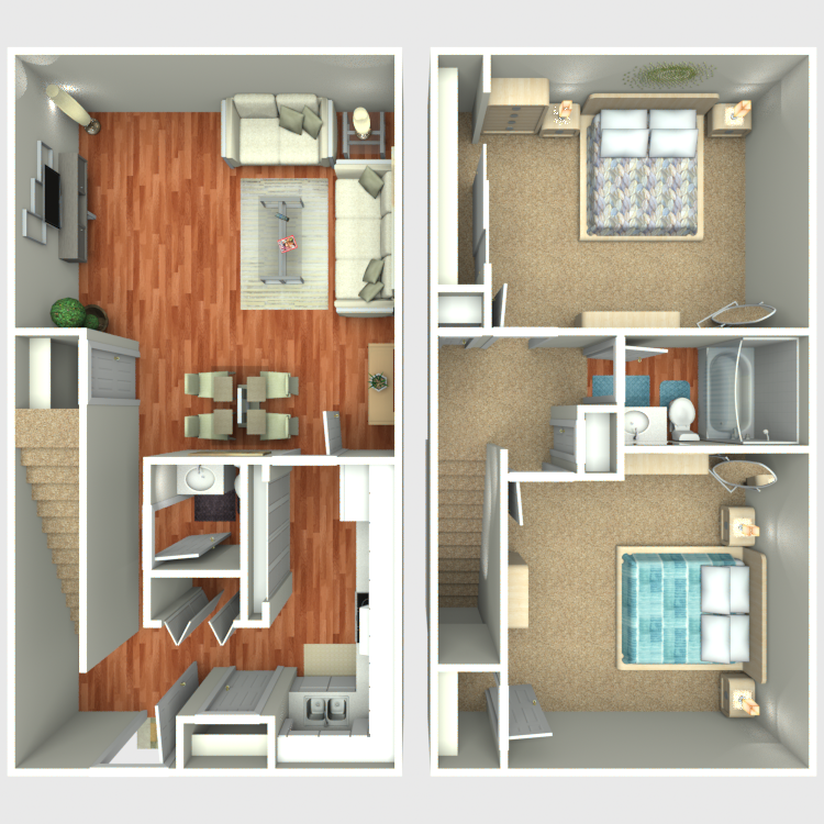 Floor plan image of TH1