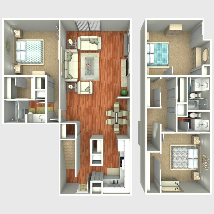 Floor plan image of TH3