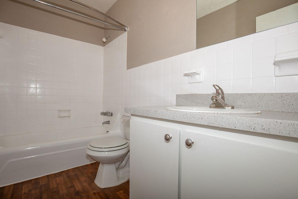 TH1 sleek bathroom at The Columns in Jacksonville, Florida