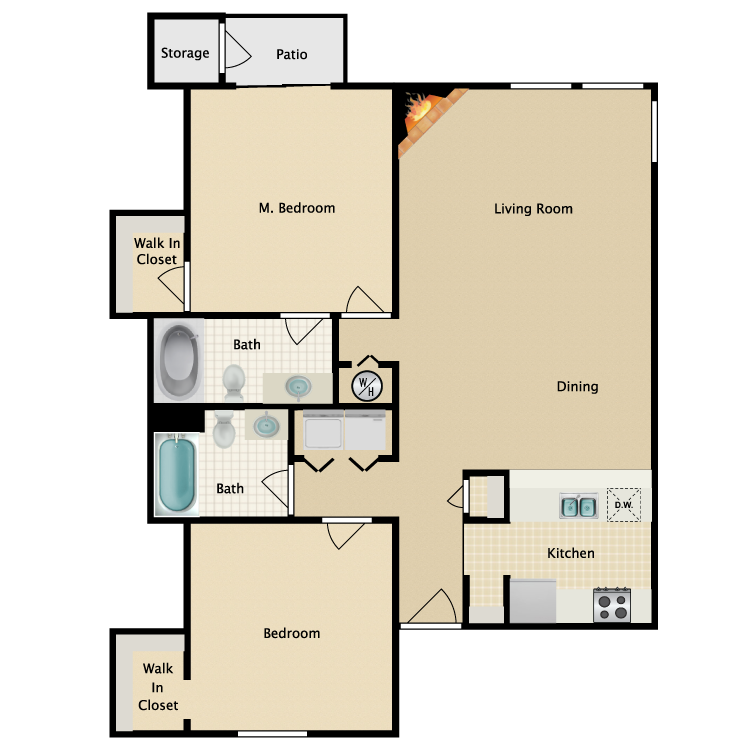 Floor plan image of The St. Andrews