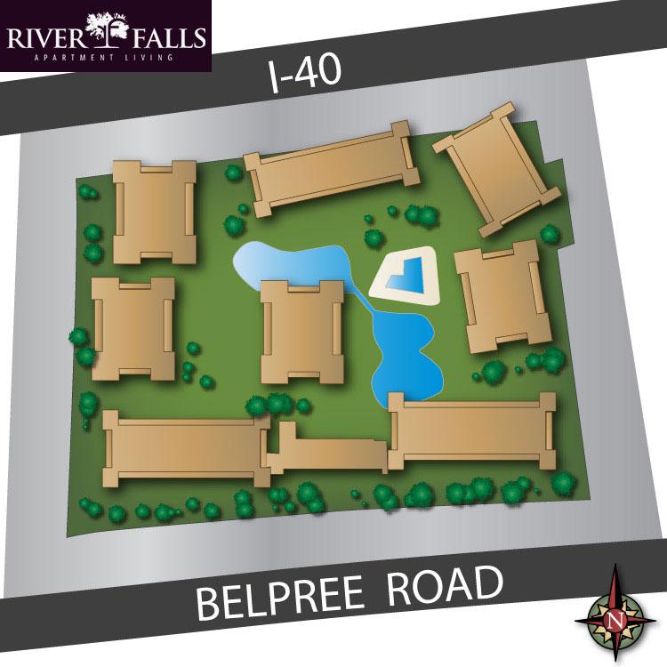 River Falls Community Map