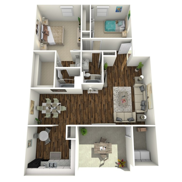 Floor plan image of B1R