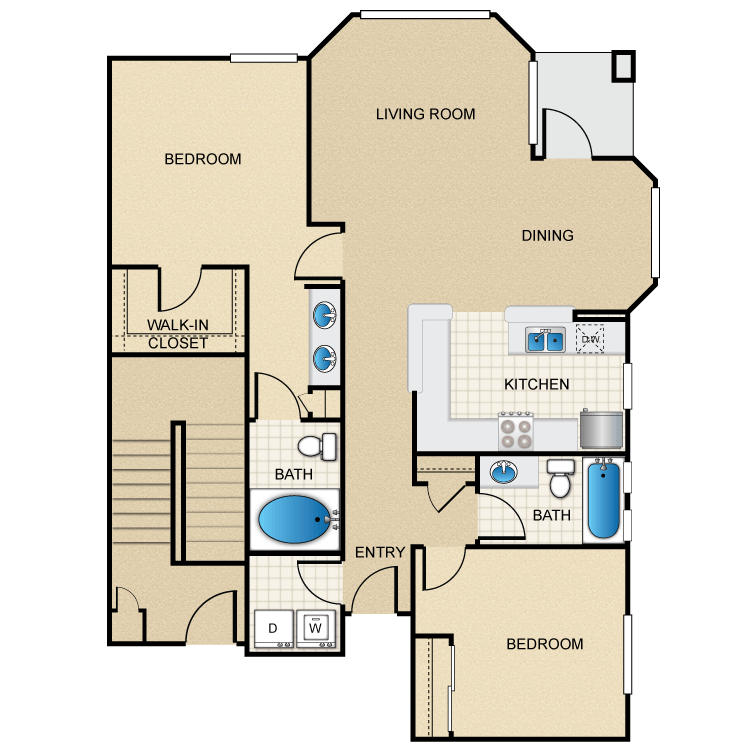 Floor plan image of Bahama