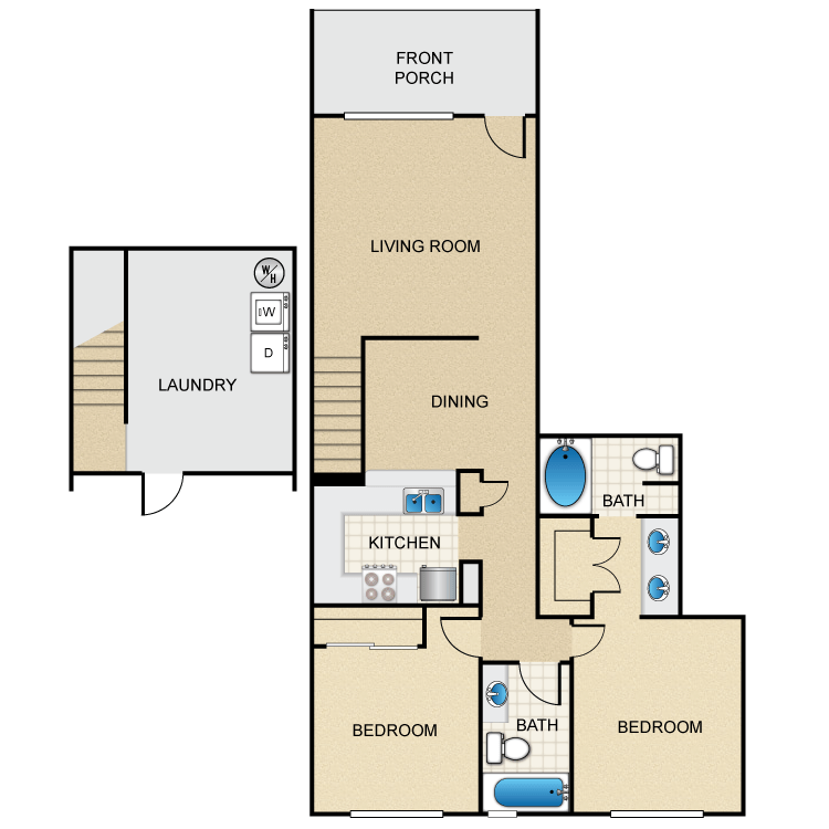 Floor plan image of St. Tropez