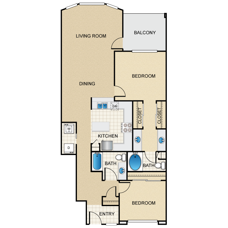 Floor plan image of Mediterranean