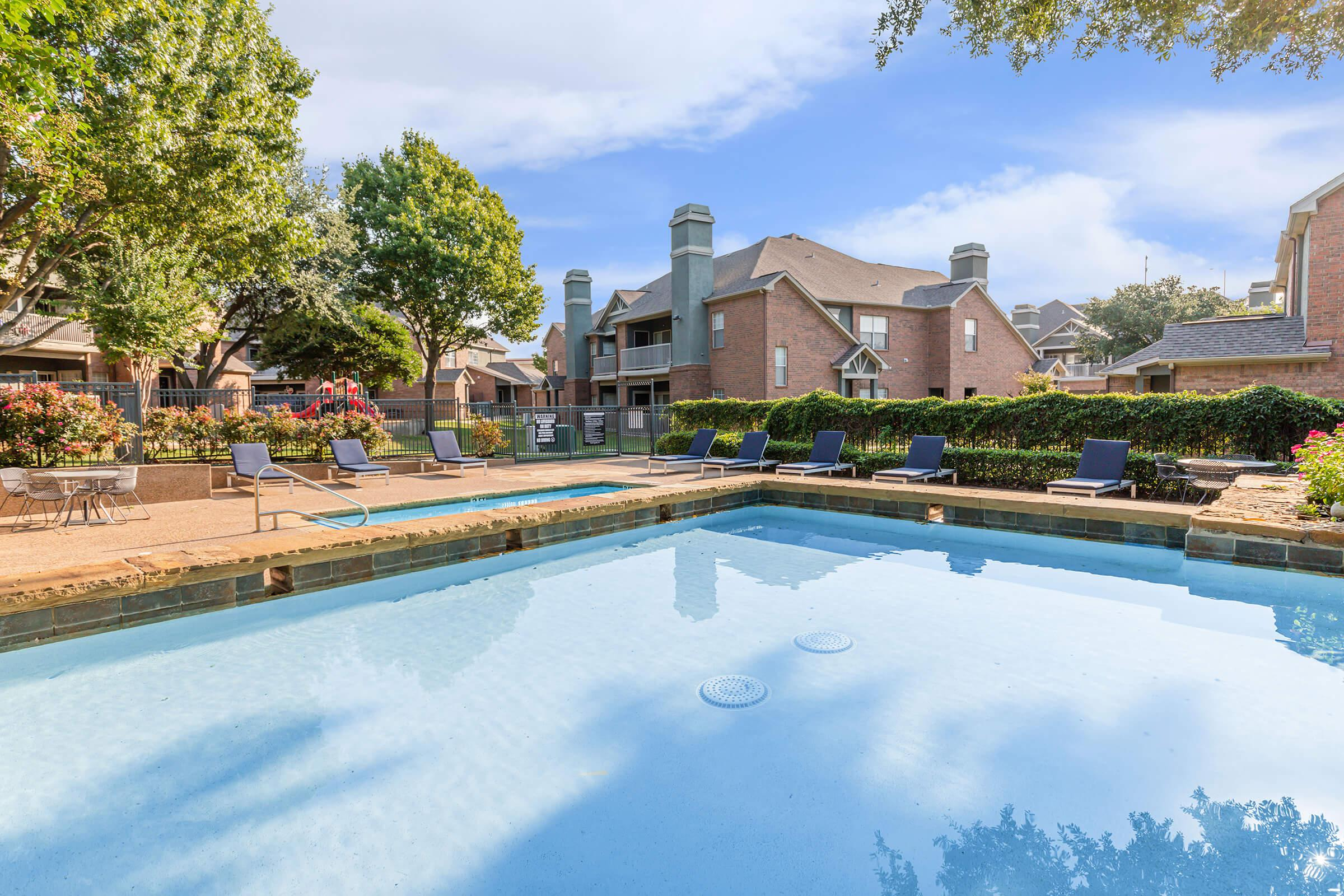 RELAX BESIDE POOL IN VILLAGES AT CLEAR SPRINGS APARTMENT