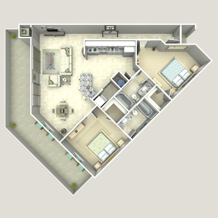 Floor plan image of The Emerald