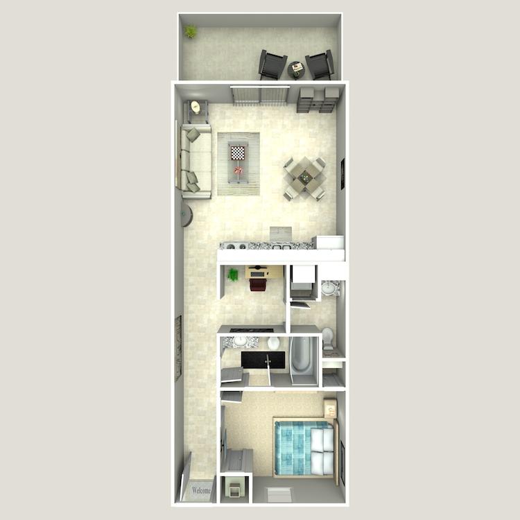 Floor plan image of The West