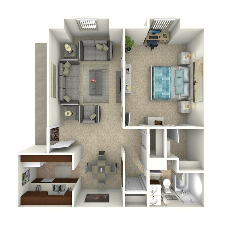 Floor plan image of A-2