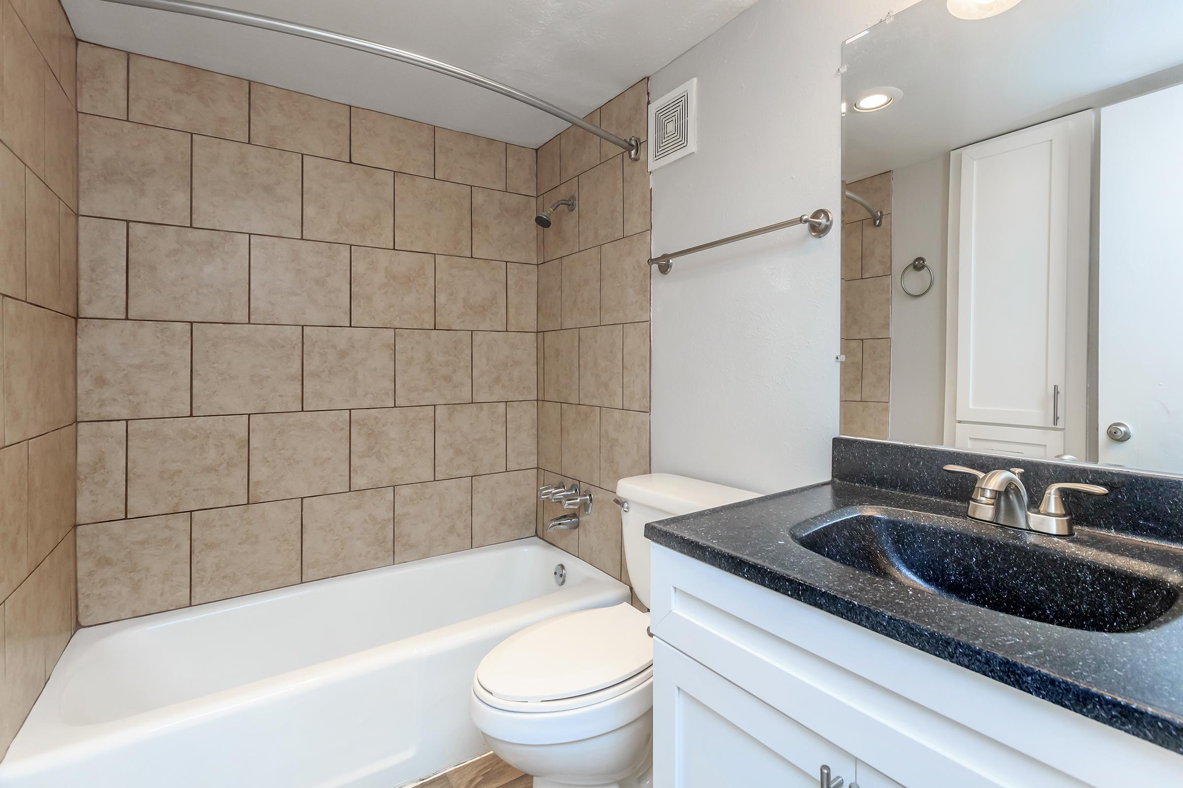 a white sink