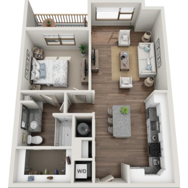 Floor plan image of  Livingston