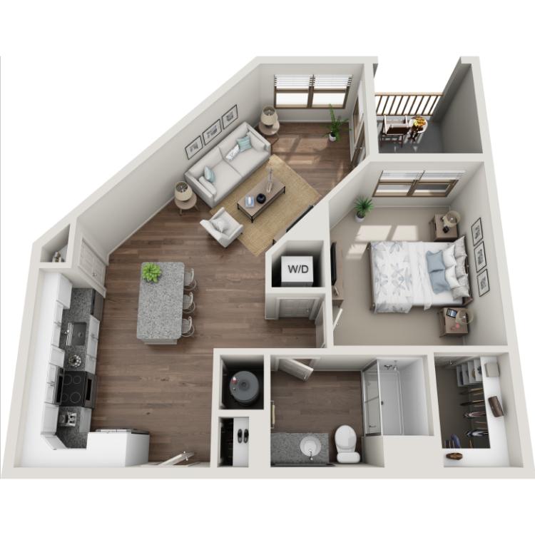 Floor plan image of Highland