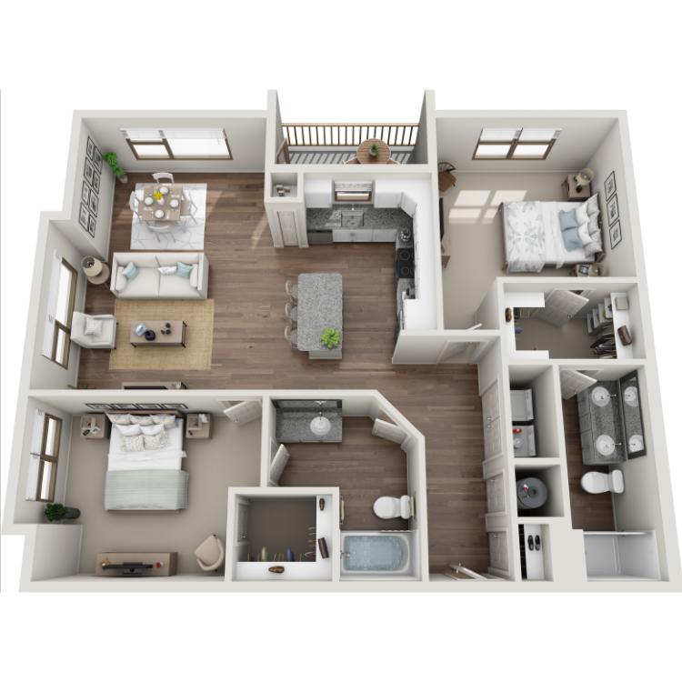 Floor plan image of Aberdeen