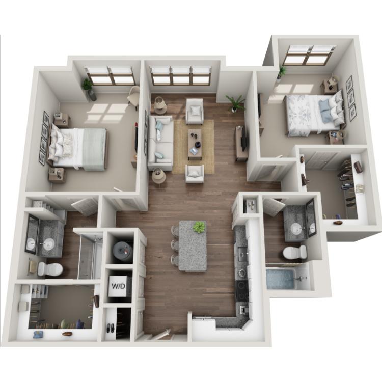 Floor plan image of Fife