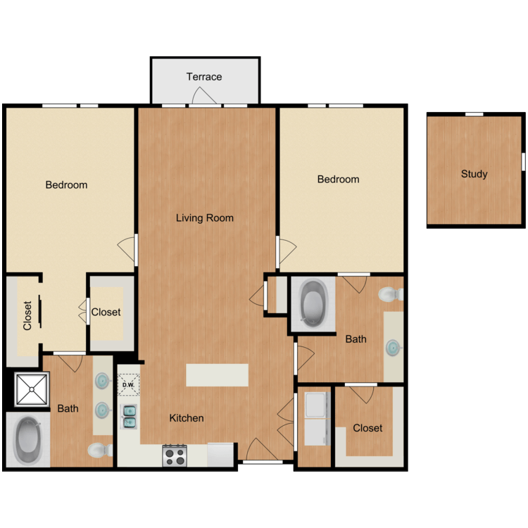 Floor plan image of The Greenwich