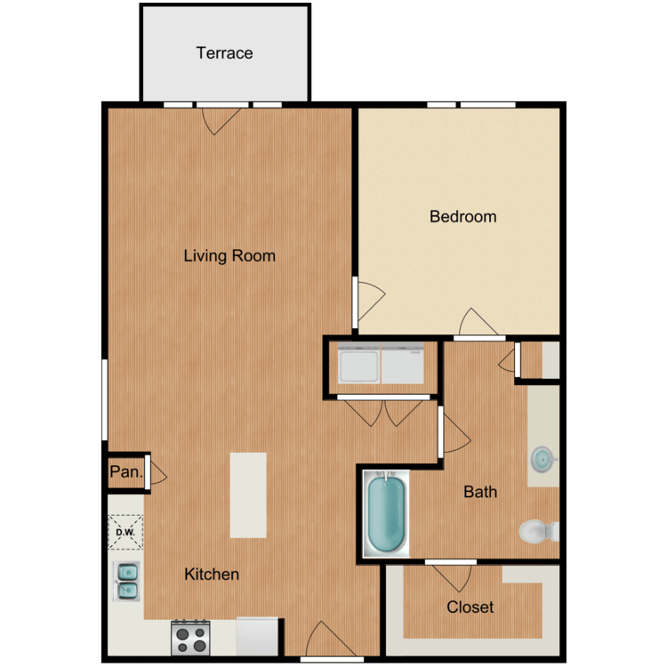 Floor plan image of The Madison