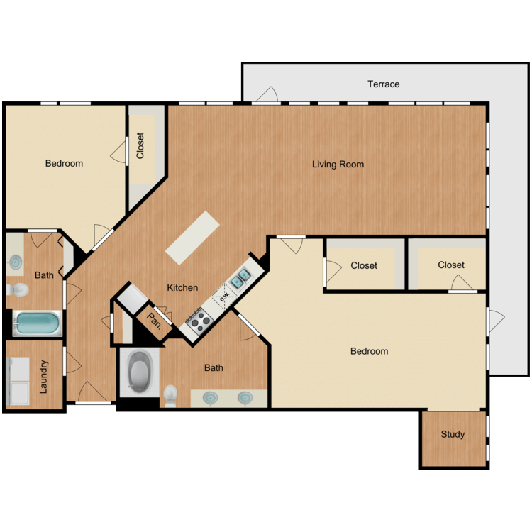 Floor plan image of The Park Avenue