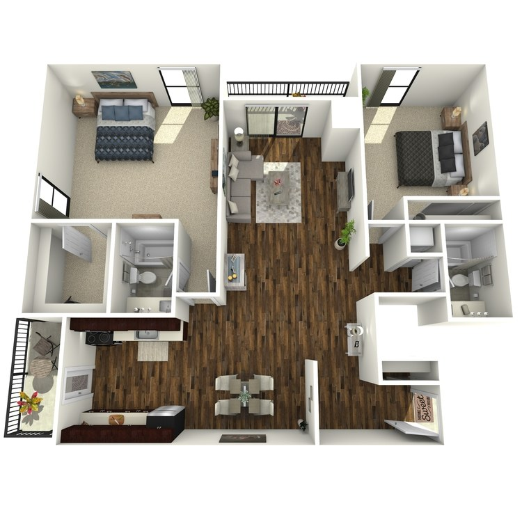 Floor plan image of The Graystone
