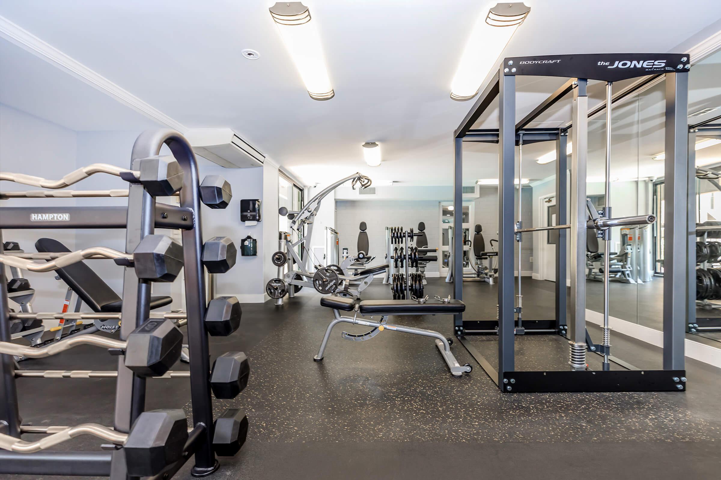 Fitness Center at Whitestoneat Landmark in Alexandria VA