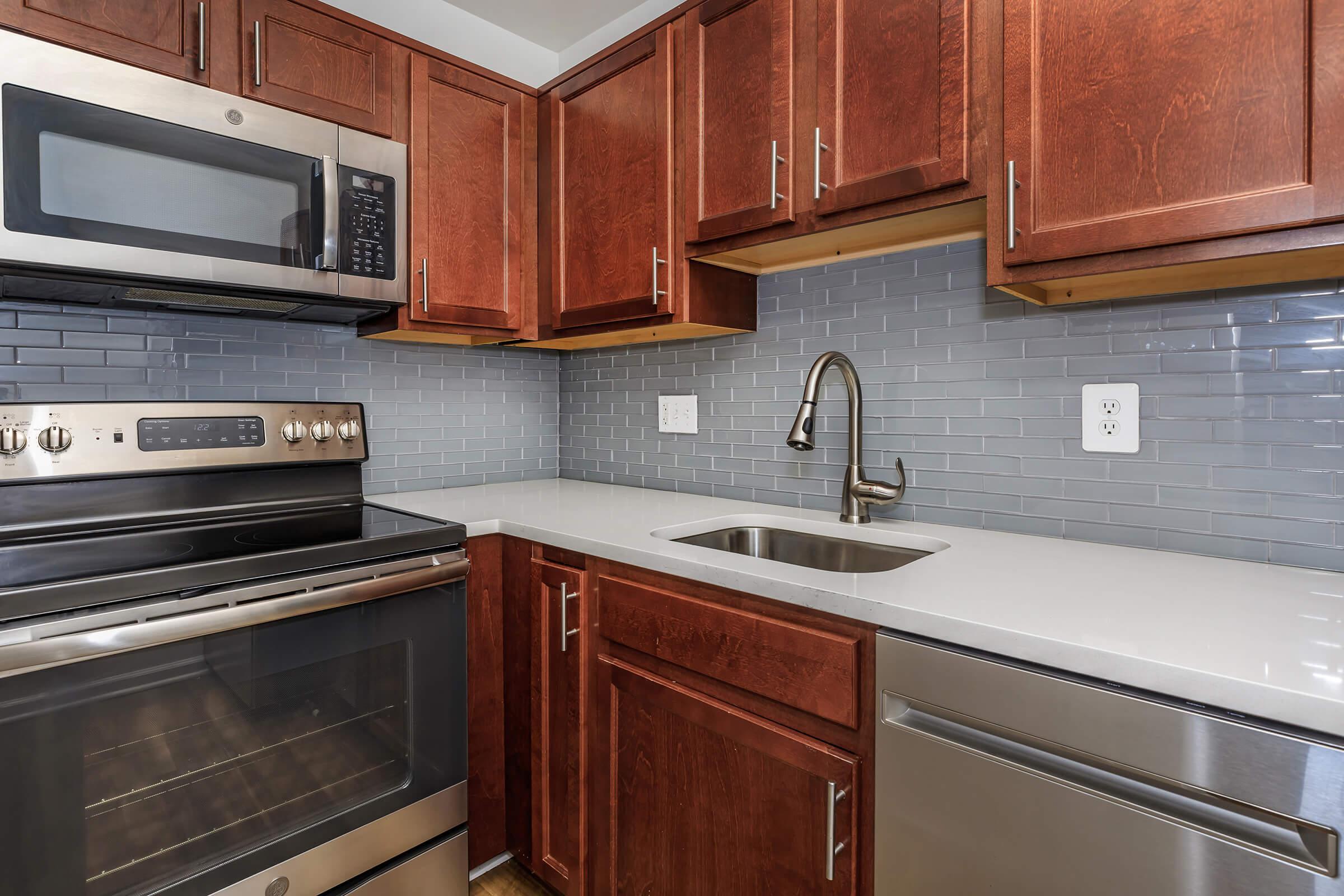 Kitchen at Whitestoneat Landmark in Alexandria R