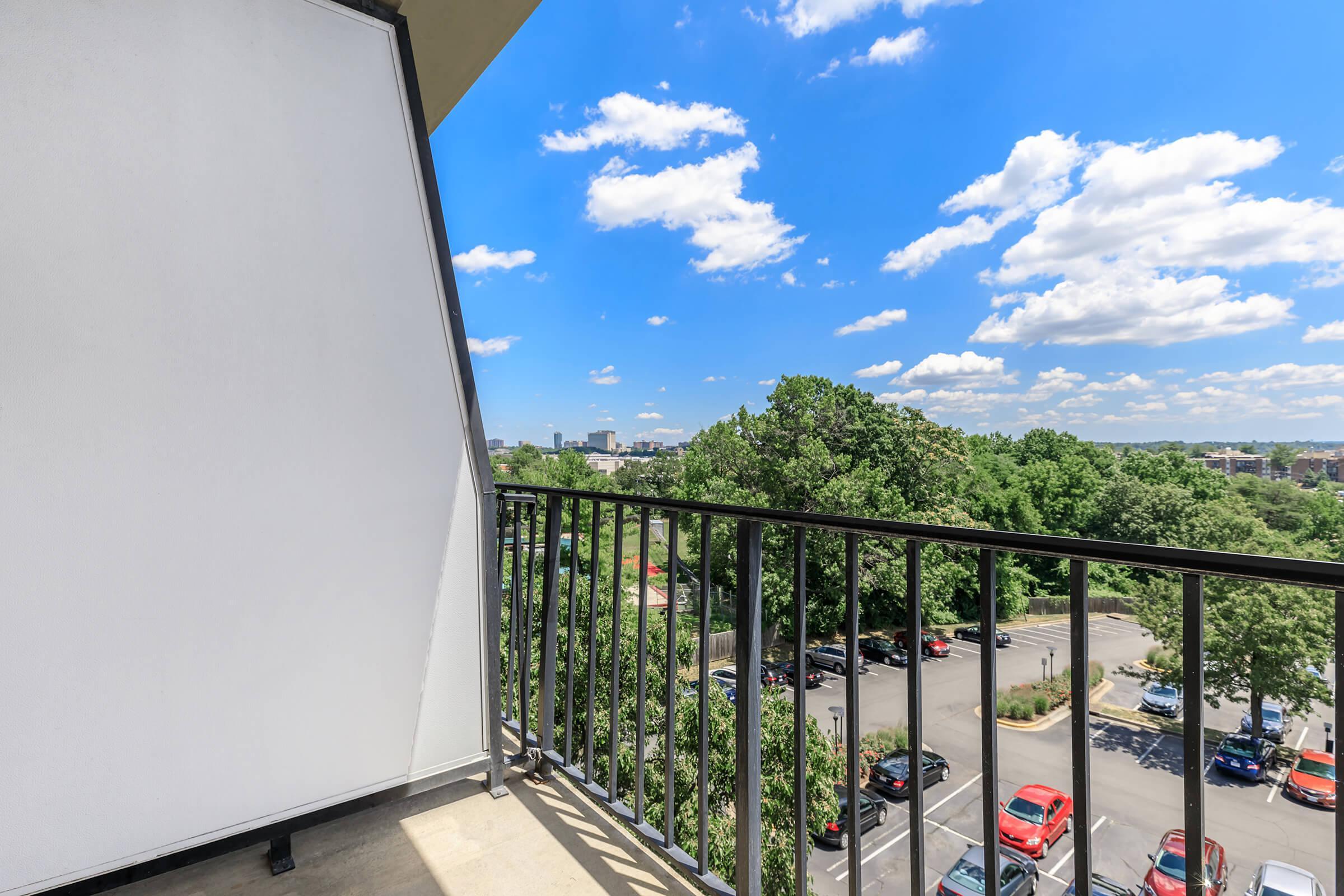 Balcony at Whitestoneat Landmark in Alexandria R