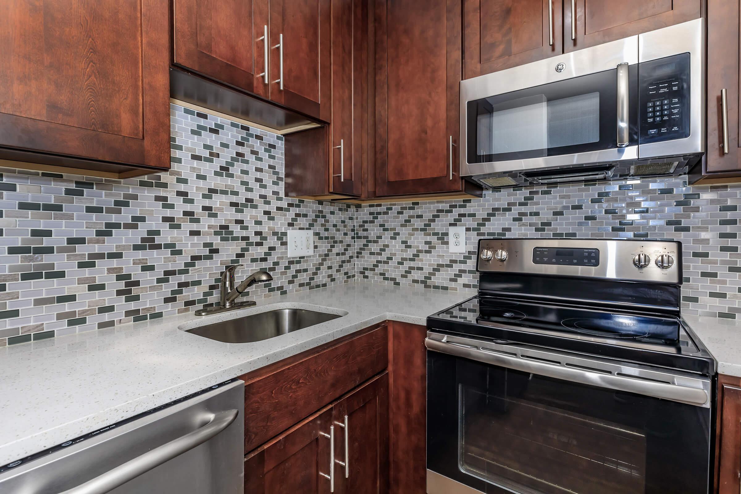 Kitchen at Whitestoneat Landmark in Alexandria VA