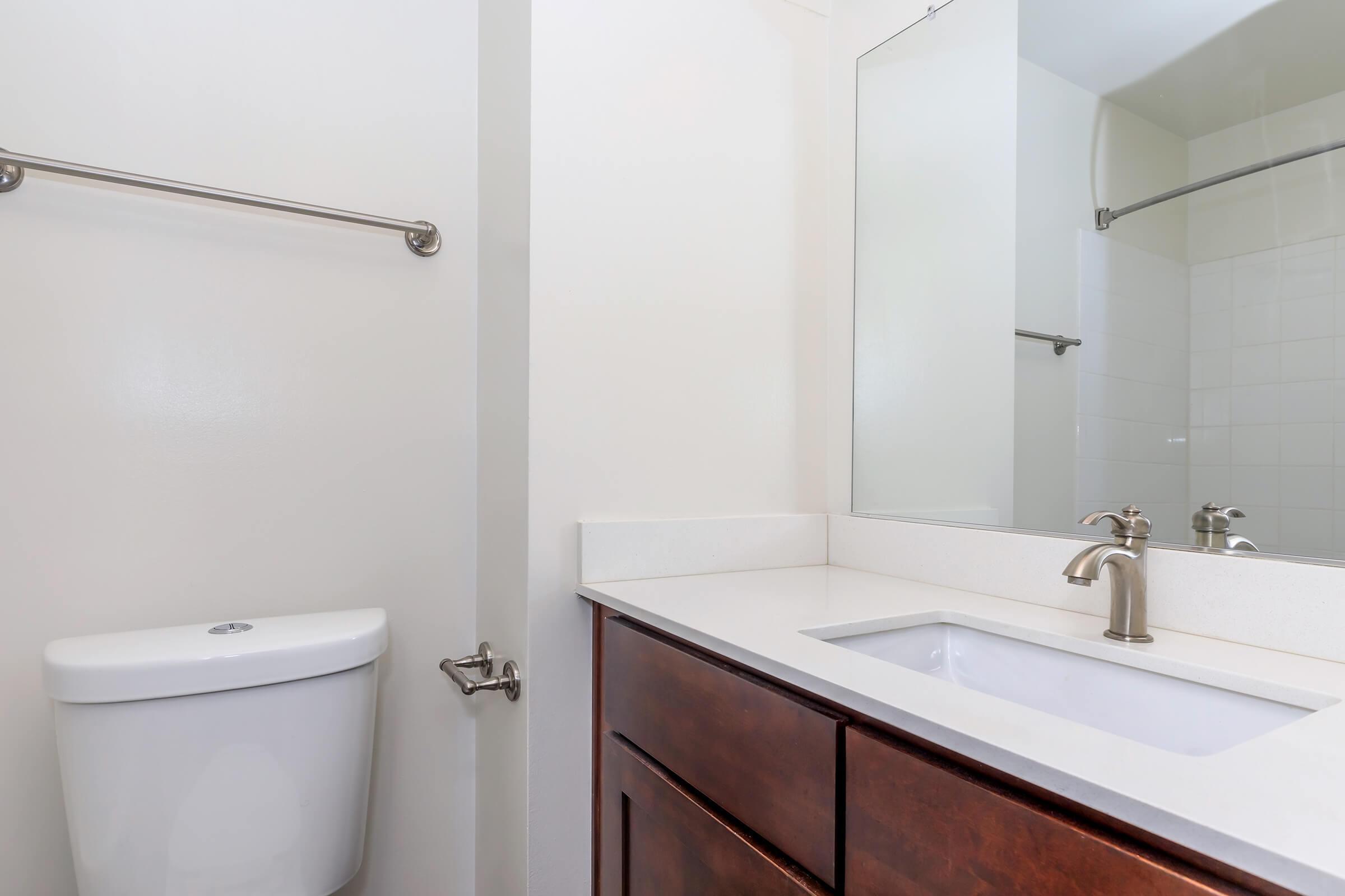 Bathroom at Whitestoneat Landmark in Alexandria VA