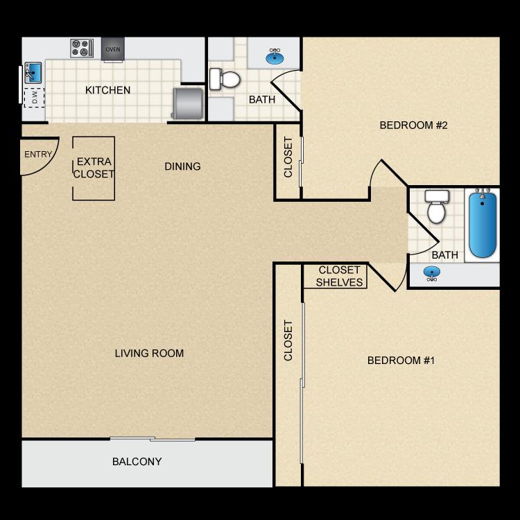 Floor plan image of Floor Plan C