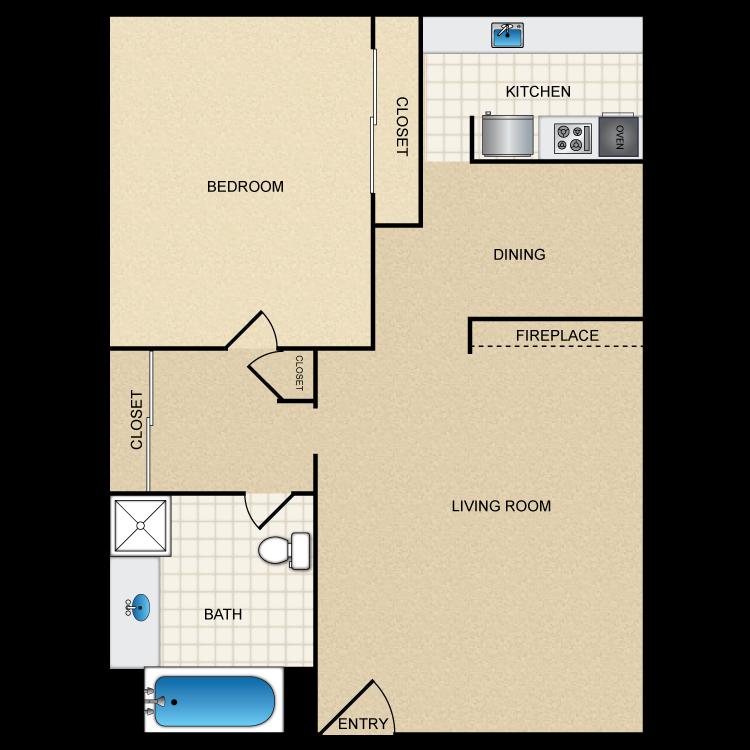 Floor plan image of Floor Plan F