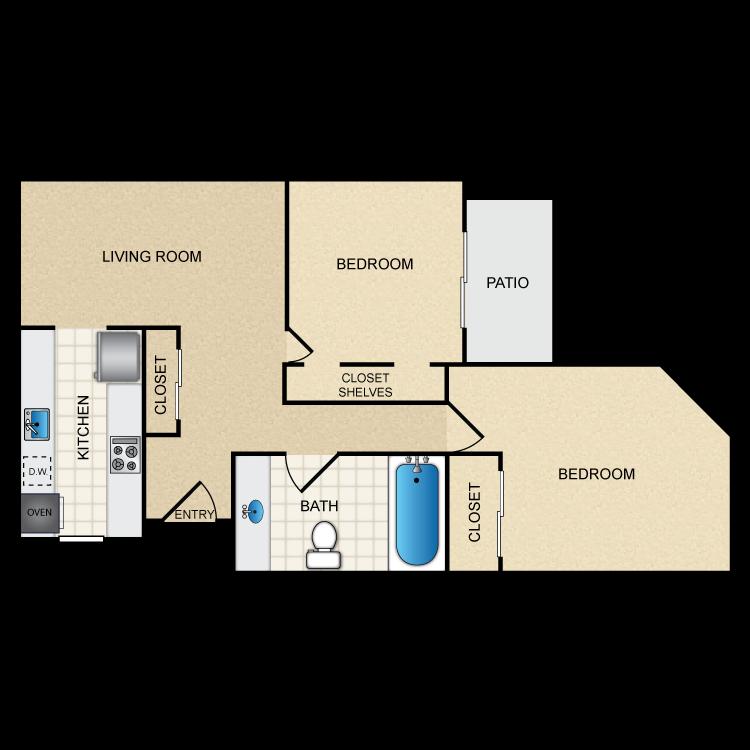 Floor plan image of Floor Plan G