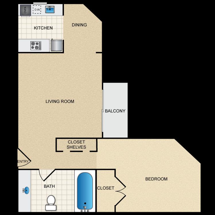 Floor plan image of Floor Plan H