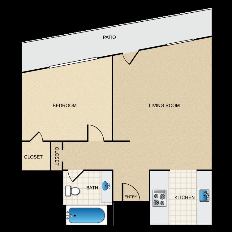 Floor plan image of Floor Plan I