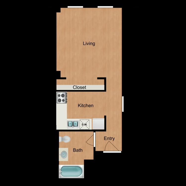 Floor plan image of Studio S3